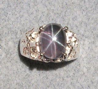 purple star sapphire rings