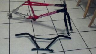 Old School BMX Freestyle 1987 Haro Master Frame And Fork Set
