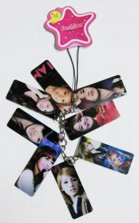 Girls Generation SNSD Mobile Phone Strap Charm SMTOWN the boys