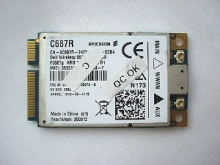 DELL 5530 3G HSDPA MINI CARD WWAN WIRELESS CARD for XX982 0XX982 CN