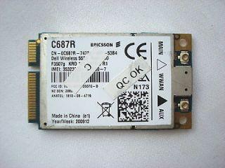 DELL 5530 3G HSDPA MINI CARD WWAN WIRELESS CARD for XX982 0XX982 CN