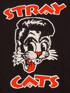 shirt Rockabilly Cool Cat Tattoo Adult S,M,L,XL Tee Brian Setzer