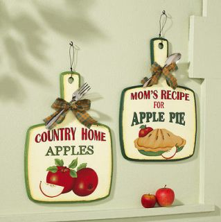 Kitchen rooster canister set of 4 country style for Red apple decorations for the kitchen