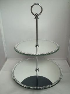 crystal wedding cake stand in Cake Stands & Plates