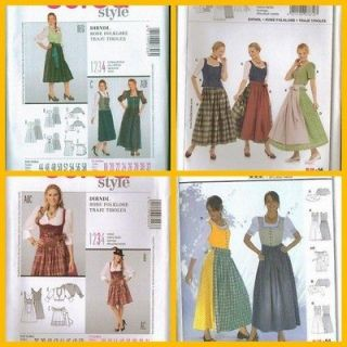 Where can I find a FREE sewing pattern for a German Dirndl