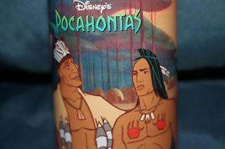 Disney Pocahontas Burger King Cup   Powhatan & Kocoum   BRAND NEW