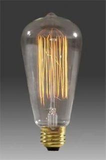 Nostalgic Edison Squirrel Cage style Filament Bulb