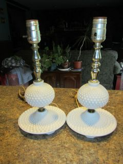 milk glass lamps in Lamps Electric