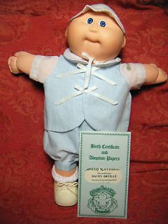 CABBAGE PATCH KIDS DOLL PREEMIE 1982 COLECO 14 WITH PAPERS