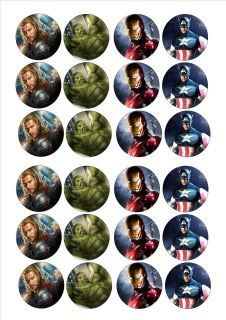 cake toppers decorations Avengers (D2 hulk iron man captain america