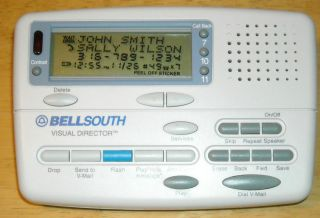 BellSouth Caller ID Box Call Waiting Deluxe 99 ID Memory with Voice