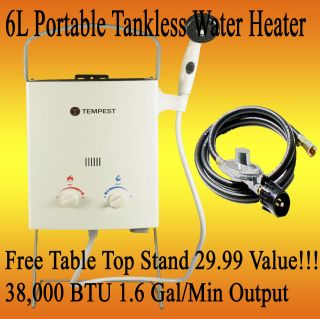 Tankless Camping, Concession, Outdoor RV Hot Water Heater Shower