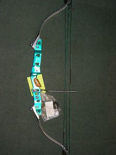 /TEAL HOYT MERIDIAN COMPOUND BOW 27 28 WITH EXTRA CAMS. 60 70 POUNDS