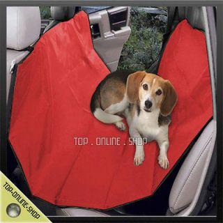 Pet Cat Dog Car Vehicle Back Rear Seat Red Hammock Cushion Bed Blanket