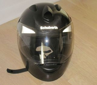 Schuberth S1 Carbon Fiber Helmet Used Size 58/59 or L
