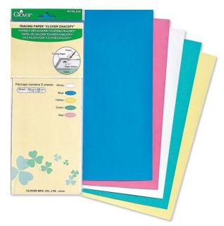 CLOVER MARKER CHACOPY CARBON TRACING PAPER 12X10 #CL434