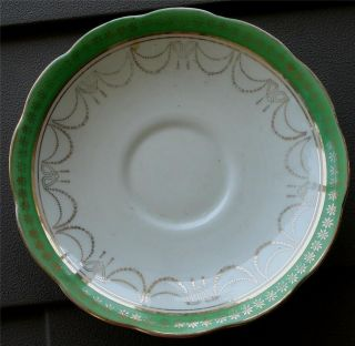 Nice Roslyn Vintage Bone China Saucer, England, VG COND