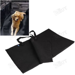 Pet Dog Car Back Seat Cover Pet Mat Blanket Hammock Cushion Protector