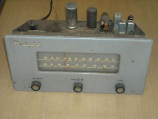 Vintage Knight 174 AM/FM Tube Radio Kit/Project