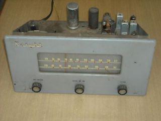 Vintage Knight 174 AM/FM Tube Radio Kit/Project