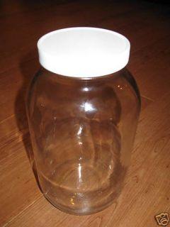 Glass Milk Jar 1 Gallon (4qts) Brand New