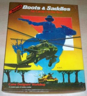 Boots & Saddles Air Cavalry In The 80s Board Game