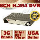CH CHANNEL H 264 CCTV REAL TIME STANDALONE DVR IPHONE