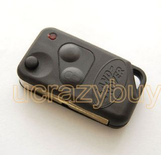 Buttons Remote Flip Key FOB Blank case Shell for LANDROVER