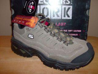 NIB Womens Skechers ESD Steel Toe Athletic Shoe Sz 9 #76006/PBOL