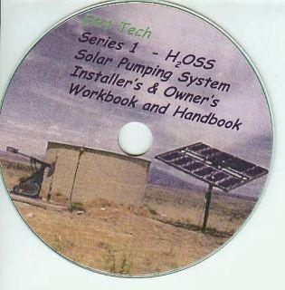 Deep Well Solar Pump Install Manual on CD ROM