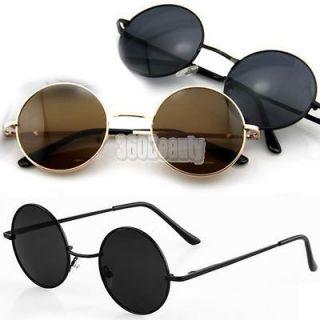 B5UT New Fashion Hot Round Frame Lens Sunglasses GlassesTortoise