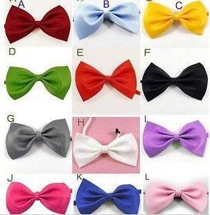Dog Cat Pet Collar ACCESSORY Bow tie necktie 12 color
