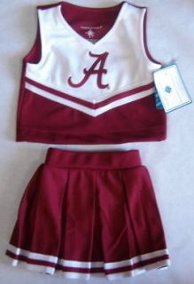 Alabama Crimson Tide Toddler / Girls Cheerleading Uniform