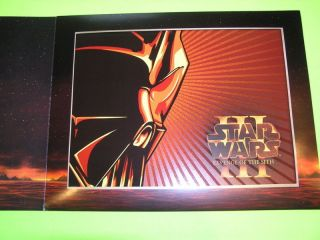 Best Buy Exclusive ROTS Lithograph Print Revenge Sith