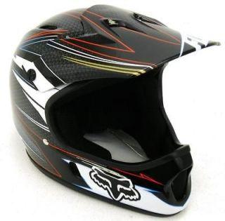 NEW Fox Rampage Downhill Helmet   Grey / Red   Large (59 60cm)