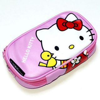 Newly listed New Pink Hello kitty Game Pouch Case Bag For Nintendo DSi