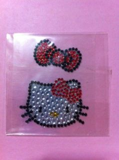 Hello Kitty Bling Crystal sticker for iPhone 4 4S 3GS ipod ipad ipad2