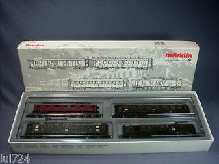 MARKLIN HO SCALE 2860 BAVARIAN EXPRESS TRAIN SET