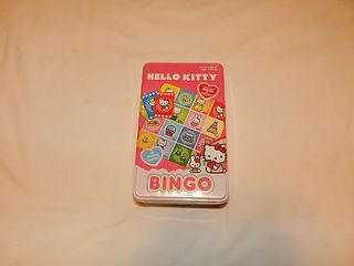 HELLO KITTY Bingo Game Alphabet Or Picture Play New In Package