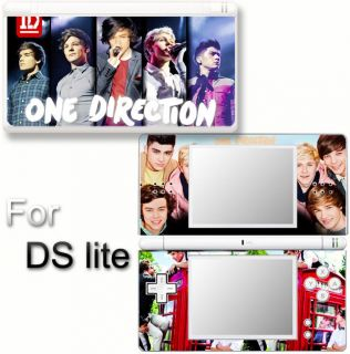 One Direction NEW SKIN DECAL VINYL STICKER COVER for Nintendo DS Lite