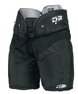 NEW DR HP 45 Junior Large Ice HOCKEY PANTS w/ Spine Protector Black
