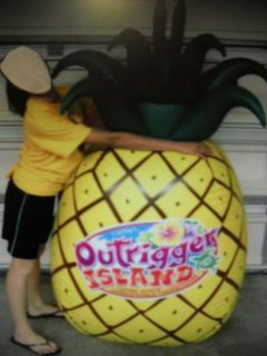 OUTRIGGER ISLAND Giant Inflatable 5.5 Foot Pineapple Lifeway VBS 2008