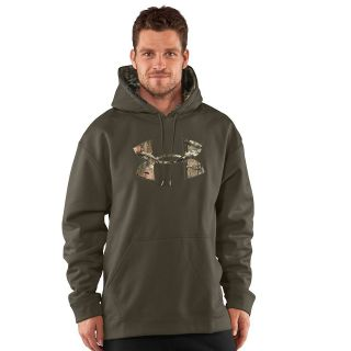 Under Armour Mens Armour Fleece Tackle Twill Logo Hoody