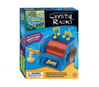 NEW SLINKY CRYSTAL RADIO KIT..NOT ROCKET SCIENCE