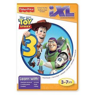 Newly listed Fisher Price iXL Learning System Software Toy Story 3