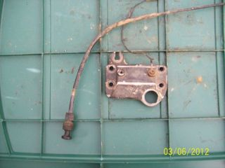 HONDA 200 BIG RED 3 WHEELER DASH AND CHOKE CABLE
