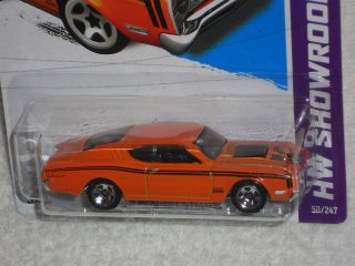 Hot Wheels 2012 Premiere 50/50   69 Mercury Cyclone   2013 HW