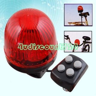 Sounds Kids Bicycle Bike Bell Siren Beeper Horn Red
