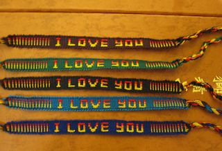 LOVE YOU, WRISTBAND FRIENDSHIP BRACELET, BUY 2 GET 1 FREE