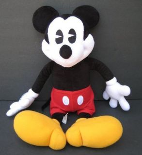 18 Large MICKEY MOUSE Plush Floppy DISNEY Stuffed Animal